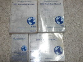 2001 Ford F-150 F150 Truck Service Shop Workshop Repair Manual Set W EWD... - $247.45