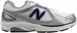 New Balance 847 Walking White/Silver-Blue MW847WN Men's - $99.70