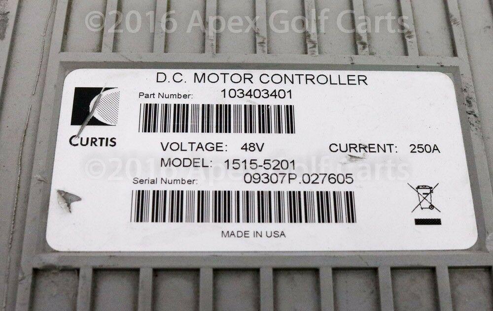 Curtis/Club Car Controller 48V 250A Re-manufactured Motor Controller 1515-5201