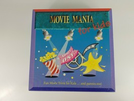 MOVIE MANIA for Kids 1995 Vintage Board Game - $5.22