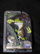 Fingerlings Untamed Raptor Dinosaur - STEALTH WowWee Green NEW Authentic - $19.99