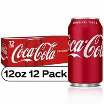 Coca-Cola Original Coke 12 oz cans (pack of 12) - $20.74