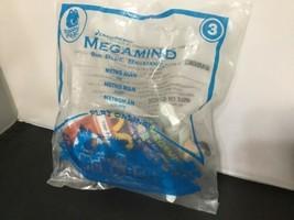 MegaMind METRO MAN Metroman McDonalds Happy Meal Figure Toy 2010 3 McD E02 - $6.92