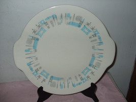"Royal China ""Blue Heaven"" Handled Cake Plate - $16.00"