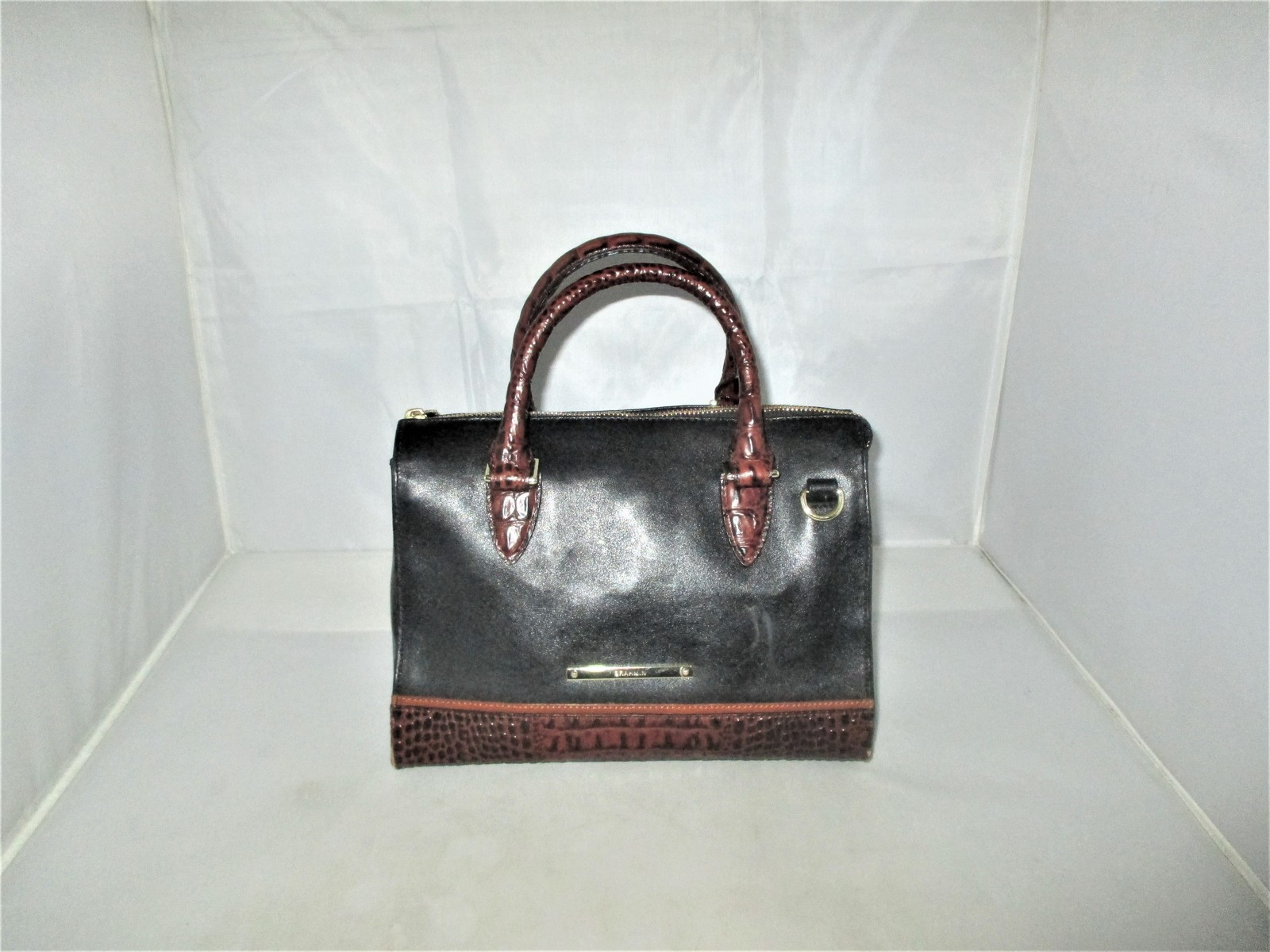 Brahmin Tuscan Tri-Texture Anywhere Convertible Satchel, Shoulder Bag,Tote $255 image 2