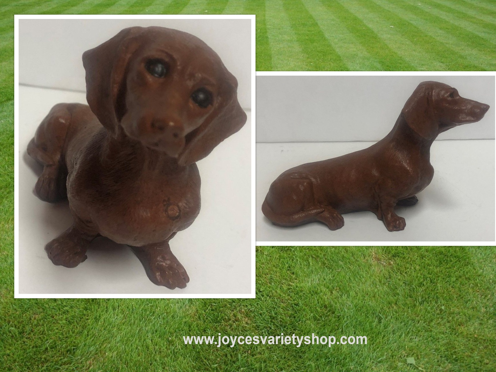 "Dachshund Figurine Dog Small 6"" x 3"" Red Mill Collectible 93 374"