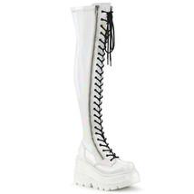 Demonia SHAKER-374 Women's Over-the-Knee Boots WHGPT - $118.95