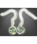 FREE W $49 HAUNTED EARRINGS HEAL RELATIONS CONFLICT MAGICK 925 MYSTIC TOPAZ - $0.00