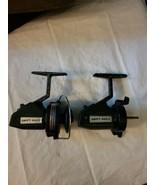 2 Vintage Swift 660 F Fishing Spinning Reels Pair Parts Repair - $2.98