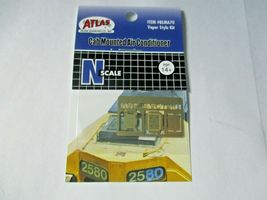 Atlas #BLMA70 Cab Mounted Air Conditioner Vapor Style Kit N-Scale image 5