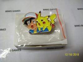 Nintendo Power POKEMON PINS Ash and Pikachu - New In Box - $10.99