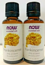 LOT OF 2-Now Foods - Essential Oils, Frankincense 20%Oil Blend, 1 fl oz ... - $14.24