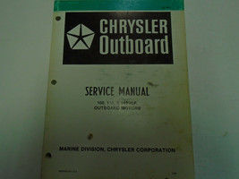 1981 Chrysler Outboard Service Manual 100 115 140 HP Factory FEO Book OB 3439 - $25.69