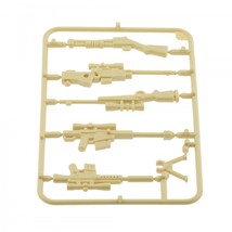 Om army military guns weapons pack for lego minifigures minifig accessories set b 2 tan thumb200