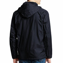 Maximos Men's Water Resistant Hooded Lightweight Windbreaker Rain Jacket Jasper image 7
