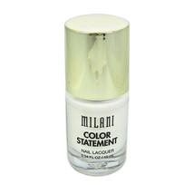 Milani Color Statement Nail Lacquer, 28 Spotlight White  - $5.87