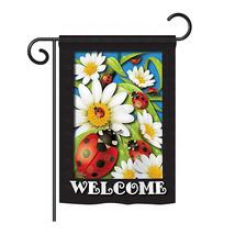 "Ladybug Heaven - 13"" x 18.5"" Impressions Garden Flag - G154068 - $19.97"