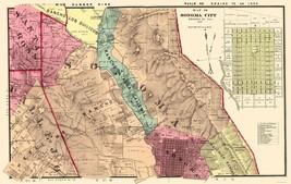 Sonoma  Southeast California Landowner - Thompson 1877 - 23 x 36.25 - $36.95+