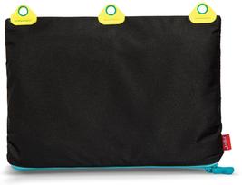 Zipit Rivets 3-Ring Pencil Case, Black - $11.97