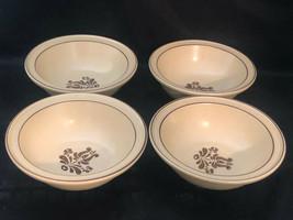 """Cereal bowls Pfaltzgraff Village Design 4 Cereal Bowls 6"""" x 2..5"""" - $29.00"""