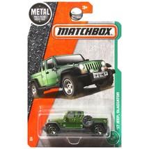 Matchbox 2017 MBX Explorers '17 Jeep Gladiator 92/125, Green - $7.99