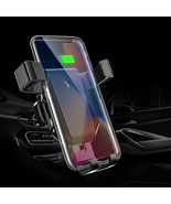 10W Qi Wireless Charger Fast Charging Quick Charge 3.0 Gravity Air Vent ... - $26.99