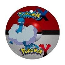 Anime Pokemon X & Y Yveltal Altaria Pokeball Round Procelain Ornament Ch... - $3.95