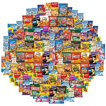 Cookies, Chips & Candies Care Package Variety Pack Bundle Sampler 150 Count