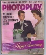 ORIGINAL Vintage November 1962 Photoplay Magazine JFK John & Jackie Kennedy - $23.19