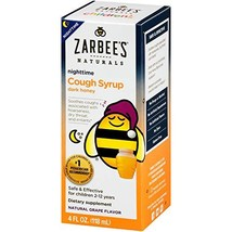 Zarbee's Naturals Children's Cough Syrup with Dark Honey Nighttime, Natu... - $7.40