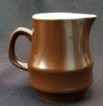 Koyo Stoneware Brown Creamer In 872 Coronado Pattern By Kasuga Japan - $15.00