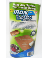 Iron Express Portable  Ironing Pad Non Slip Heat Resistant Home Travel S... - $29.99