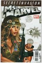 Ms. Marvel #29 NM-/NM 2008 Comics Secret Invasion Tie-In Horn Ms Movie A... - $3.95