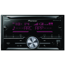 Pioneer Double-din In-dash Cd Receiver With Bluetooth & Siriusxm Rea... - $140.00