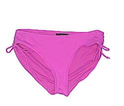 Apt 9 Women Bikini Swimwear Swim Bottom Side Ties Purple Magenta XL - $14.99