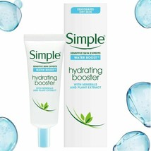Simple Water Boost Hydrating Booster Sensitive Dehydrated Dry Skin 4 Pac... - $14.26