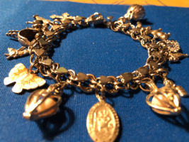 Vintage Sterling Silver Charm Bracelet W/CHARMS*SOME Sterling*Circa Early 60's - $295.00