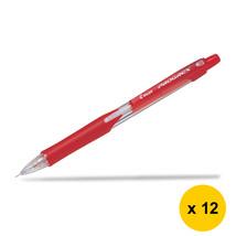 BegreeN Progrex H125 0.5mm Mechanical Pencil (Pack of 12)-Red,for School, Pilot - $24.99