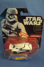 Toys Mattel NIB Hot Wheels Disney Star Wars First Order Storm Trooper  Car - $8.95