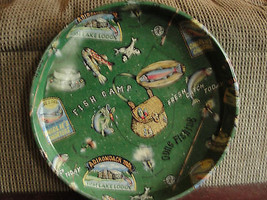Gone Fishing serving tray, Department 56 - $20.05