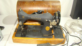 Vintage Singer 1948 , with foot pedal & case S/N AH609543 - $173.25
