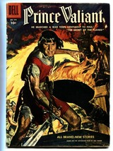 PRINCE VALIANT FOUR COLOR #699 1956-DELL COMICS-WAR VG image 1
