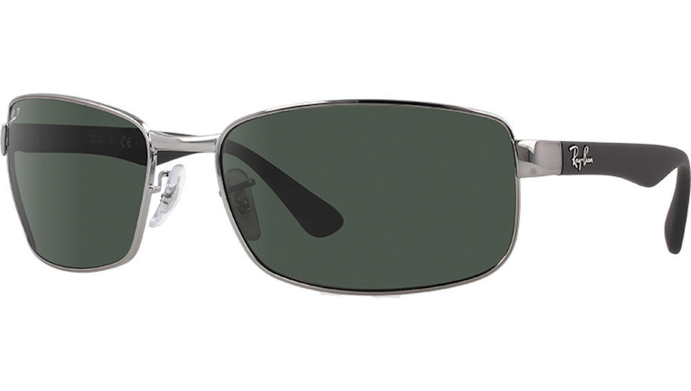 5a1593bf3 Ray Ban RB3478 004 58 Gunmetal Frame Green and 50 similar items