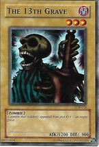 Yu-Gi-Oh Card- The 13th Grave - $1.25