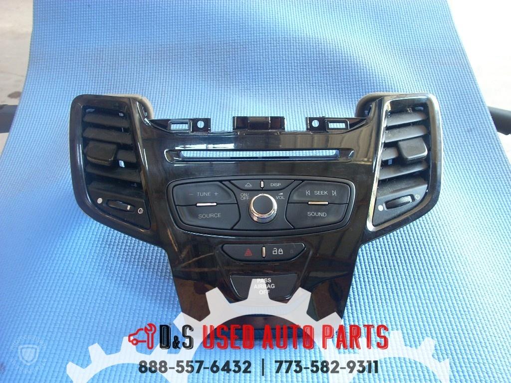 2014 FORD FIESTA RADIO CONTROL PANEL C1BT-18K811HB-OEM