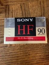 Sony HF 90 Minute Cassette - $17.70