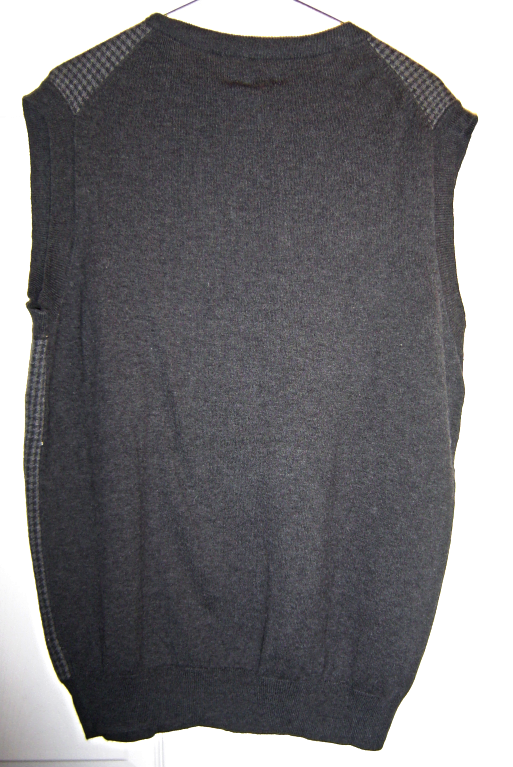 Croft & Barrow Mens Classic Signature Sweater Vest  Size Small Dark Grey NWT image 4
