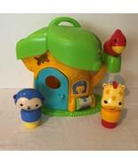 Fisher Price My Little Snugamonkey Tree House Activity Playset Animals F... - $19.99