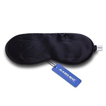 Alaska Bear Natural Silk Sleep Mask, Blindfold, Super Smooth Eye Mask (O... - €9,96 EUR