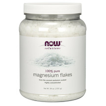 Now Foods Magnesium Flakes - 54 oz FRESH, MADE IN USA - $42.86